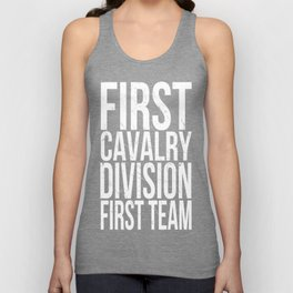 First Cavalry Unisex Tank Top