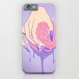 Rose Aggression iPhone Case