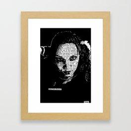 Eyes That Charmed Framed Art Print