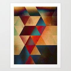auburn hyyrt Art Print