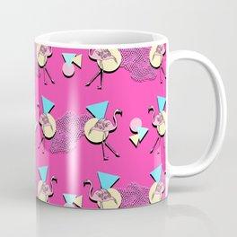 80s Flamingos Coffee Mug