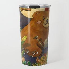 Garden Bear Travel Mug