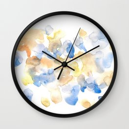 170722 Colour Living 25  |Modern Watercolor Art | Abstract Watercolors Wall Clock