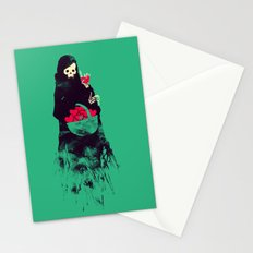 Death Valentine Gift Stationery Cards