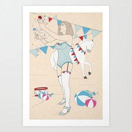 circus 2/2 Art Print