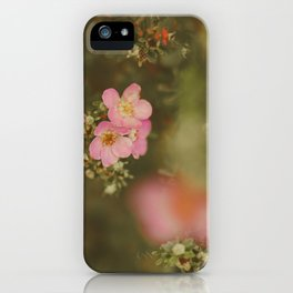flower photography by Elina Bernpaintner iPhone Case