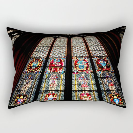 Cathedral Window Rectangular Pillow