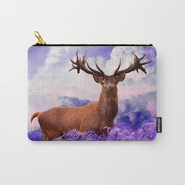 Stag in the Clouds Carry-All Pouch