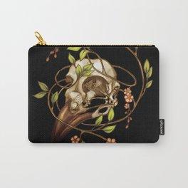 Bird Skull & Vine Carry-All Pouch