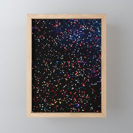Concert Confetti Framed Mini Art Print