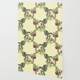 Botanical Pig Wallpaper