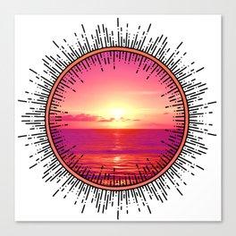 Florida Sunrise Canvas Print