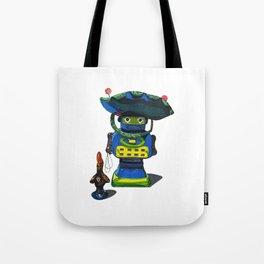 Robot-Bob Tote Bag