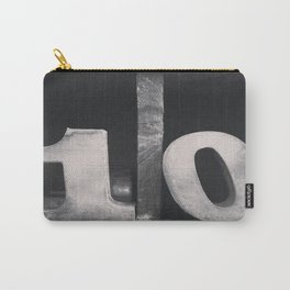 Number Crazy #10 Carry-All Pouch