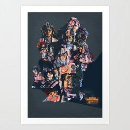 Rogue Squadron // Unsung Heroes of Star Wars Art Print