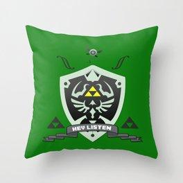 Hylian Zelda Throw Pillow