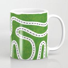 Green Speed Racers Coffee Mug