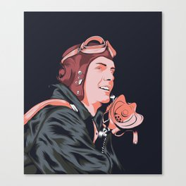 The Aviator Canvas Print