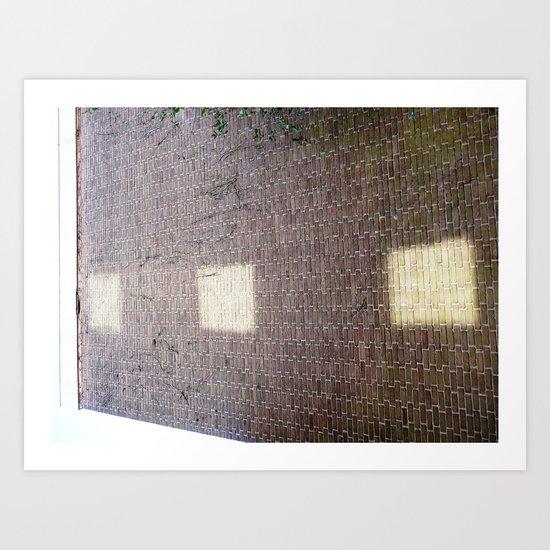 Urban Abstract 90 Art Print