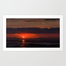 Sunset series Art Print