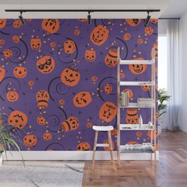 Halloween Magic- Purple Wall Mural