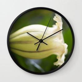 Chalice Vine Wall Clock