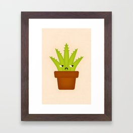 Aloe Plant Framed Art Print