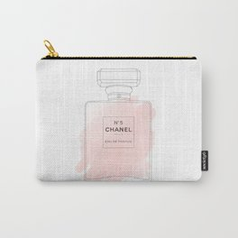 pink watercolor perfume Carry-All Pouch