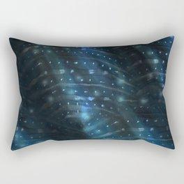 Whale Shark Underwater Rectangular Pillow