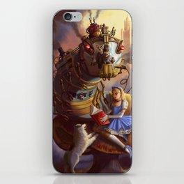 Sandra's Steampunk Alice in Wonderland iPhone Skin