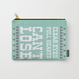 Clear Eyes Full Heart Can't Lose Carry-All Pouch