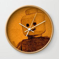 Old Lego Wall Clock