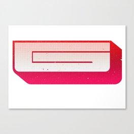 Wood Type G HT Canvas Print