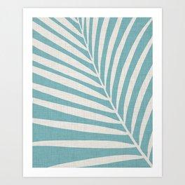 Vintage Palm Frond Art Print