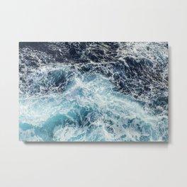 Ocean - Waves - Deep Blues - Beach - Sea Metal Print