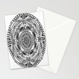 Alien Rotation Stationery Cards