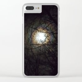 Moon Bow Supermoon  Oct 2016 Clear iPhone Case