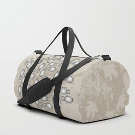 grizzly bear in foliage Duffle Bag