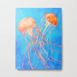 Bright Dance of the Sea Metal Print