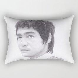Lee, Bruce the dragon Rectangular Pillow