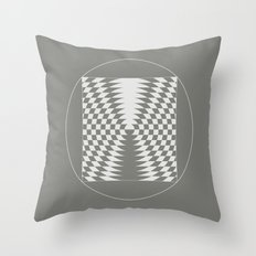 extraterrestrial crop circle, sacred geometry Throw Pillow