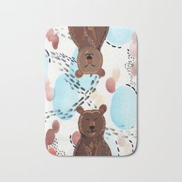 Brother Bears Bath Mat