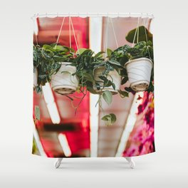 Mountain City Plant Co. Shower Curtain
