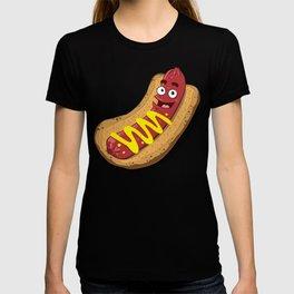 Hot Dog with Mustard T-shirt