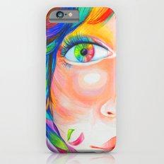 rainbow haired Slim Case iPhone 6s