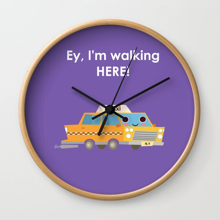 Release the inner New Yorker in you! Wall Clock