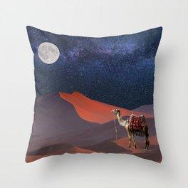 Sahara Star Gazing Throw Pillow