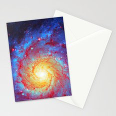 Spiral Galaxy Stationery Cards