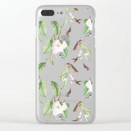 Birds #4 Clear iPhone Case