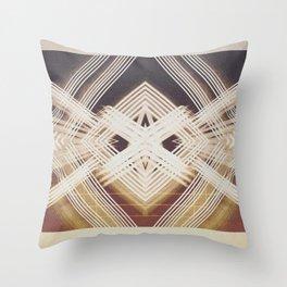vibration 2 Throw Pillow